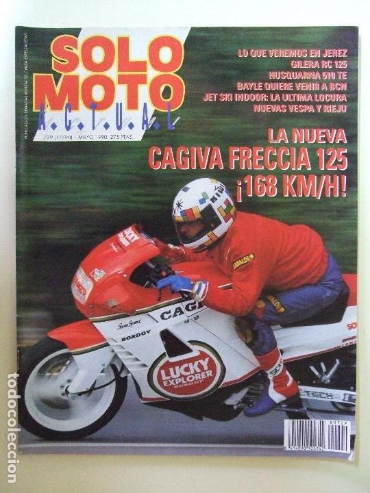 Coches y Motocicletas: LOTE 7 REVISTAS SOLO MOTO AÑO 1990 Nº 724 727 729 730 731 732 733 REVISTA MOTOS ASPAR CARDUS - Foto 5 - 101205183