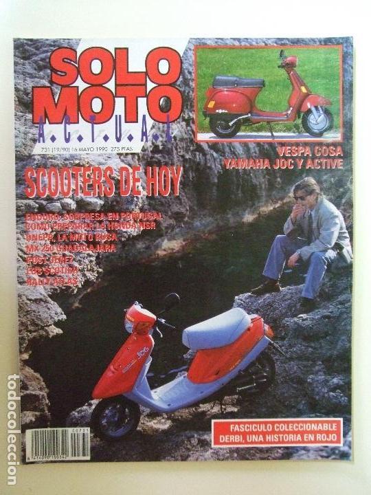 Coches y Motocicletas: LOTE 7 REVISTAS SOLO MOTO AÑO 1990 Nº 724 727 729 730 731 732 733 REVISTA MOTOS ASPAR CARDUS - Foto 7 - 101205183