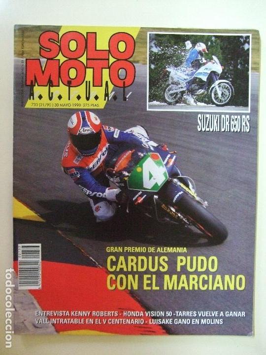 Coches y Motocicletas: LOTE 7 REVISTAS SOLO MOTO AÑO 1990 Nº 724 727 729 730 731 732 733 REVISTA MOTOS ASPAR CARDUS - Foto 9 - 101205183