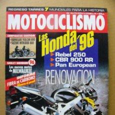 Coches y Motocicletas: MOTOCICLISMO 1436 KAWASAKI VN 800 VULCAN SUZUKI VS 800 GL INTRUDER DERBI FURAX 50. Lote 101259527