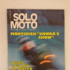 Coches y Motocicletas: REVISTA SOLO MOTO Nº 45 ORIGINAL AÑO 1976 INCLUYE EL POSTER EXCELENTE ESTADO. Lote 101264447