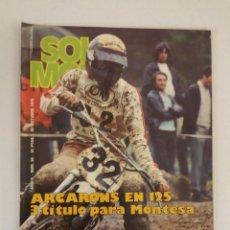 Coches y Motocicletas: REVISTA SOLO MOTO Nº 60 ORIGINAL AÑO 1976 INCLUYE EL POSTER EXCELENTE ESTADO. Lote 101265011