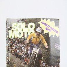 Coches y Motocicletas: REVISTA SOLO MOTO / MOTOS - Nº 200 JULIO 1979 - SCHREIBER LIDER DEL MUNDIAL - EDITORIAL GARBO. Lote 101526583
