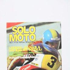 Coches y Motocicletas: REVISTA SOLO MOTO / MOTOS - Nº 208 SEPTIEMBRE 1979 - JEREZ GANARA 143 KM DE MEDIA - EDITORIAL GARBO. Lote 101526763