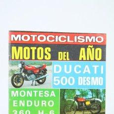 Coches y Motocicletas: REVISTA MOTOCICLISMO / MOTOS - Nº 595 ENERO 1979 - MOTOS DEL AÑO - EDITORIAL EDISPORT. Lote 101532287