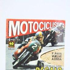 Coches y Motocicletas: REVISTA MOTOCICLISMO / MOTOS - Nº 445 ENERO 1976 - F. PAYA VUELVE A OSSA - EDITORIAL EDISPORT. Lote 101532855