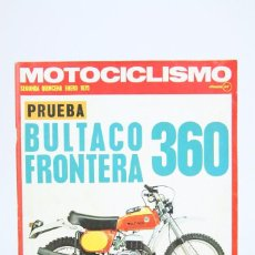 Coches y Motocicletas: REVISTA MOTOCICLISMO / MOTOS - ENERO 1975 - BULTACO FRONTERA 360 - EDITORIAL EDISPORT. Lote 101533083
