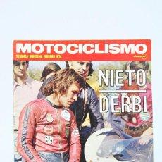 Coches y Motocicletas: REVISTA MOTOCICLISMO / MOTOS - FEBRERO 1974 - NIETO DERBI - EDITORIAL EDISPORT. Lote 101534155