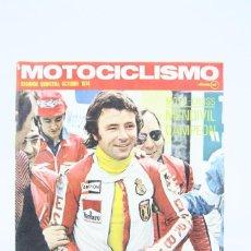 Coches y Motocicletas: REVISTA MOTOCICLISMO / MOTOS - OCTUBRE 1974 - DERBI NIETO - EDITORIAL EDISPORT. Lote 101539071