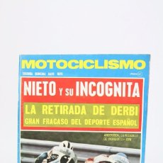 Coches y Motocicletas: REVISTA MOTOCICLISMO / MOTOS - MAYO 1973 - NIETO Y SU INCOGNITA. Lote 101541059