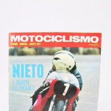 Coches y Motocicletas: REVISTA MOTOCICLISMO / MOTOS - AGOSTO 1973 - NIETO ¿QUIEN LE SIGUE? - EDITORIAL EDISPORT. Lote 101543159