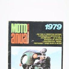 Coches y Motocicletas: REVISTA MOTO ANUAL CATALOGO DE VELOCIDAD / MOTOS - AÑO 1979 Nª 933. Lote 101545595