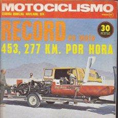 Coches y Motocicletas: REVISTA MOTOCICLISMO SEGUNDA QUINCENA NOVIEMBRE 1974 PRUEBA OSSA DESERT 250 Y SUZUKI ROCA 750 GT. Lote 102202471