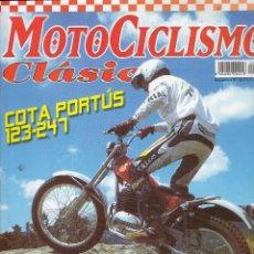 Coches y Motocicletas: REVISTA MOTOCICLISMO CLASICO Nº 26. PRUEBA: MONTESA COTA 123/247. (74-04). MONTESA 250 GP DE PORTUS.. Lote 102460683