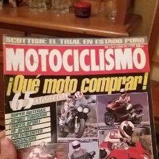 Coches y Motocicletas: REVISTA ANTIGUA DE MOTOS MOTOCICLISMO AÑO 1993 MOTO N° 1320 CATÁLOGO HONDA KAWASAKI YAMAHA SUZUKI. Lote 102732259
