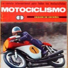 Coches y Motocicletas: REVISTA MOTOCICLISMO OCTUBRE 1966 - SUZUKI 50 - MOTOS ESPAÑOLAS OSSA - LOS CAMPEONES DEL MUNDO. Lote 102799307