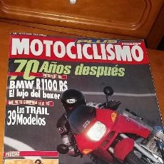 Coches y Motocicletas: REVISTA ANTIGUA DE MOTOS MOTOCICLISMO AÑO 1993 MOTO N° 1302 CATÁLOGO SUZUKI. Lote 102829195