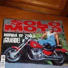 Coches y Motocicletas: REVISTA ANTIGUA DE MOTOCICLISMO SOLO MOTO ACTUAL N° 895. Lote 102977915