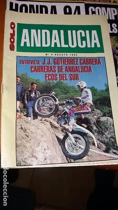 REVISTAS ANTIGUA DE MOTOCICLISMO SOLO MOTO N° 895 Y REVISTA ANTIGUAS ANDALUCÍA N°4 MOTOS AÑO 1993 (Coches y Motocicletas - Revistas de Motos y Motocicletas)