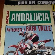 Coches y Motocicletas: REVISTAS ANTIGUA DE MOTOCICLISMO SOLO MOTO N° 887 Y REVISTA ANTIGUAS ANDALUCÍA N°2 MOTOS AÑO 1993. Lote 102978723