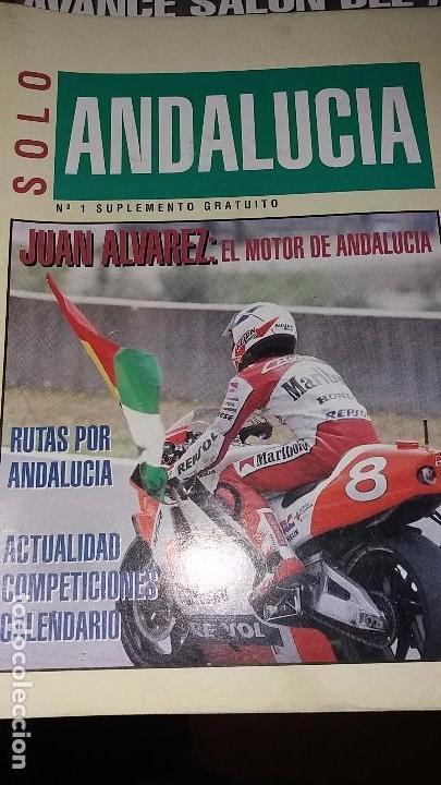 REVISTAS ANTIGUA DE MOTOCICLISMO SOLO MOTO N° 884 Y REVISTA ANTIGUAS ANDALUCÍA N°1 MOTOS AÑO 1993 (Coches y Motocicletas - Revistas de Motos y Motocicletas)
