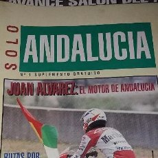 Coches y Motocicletas: REVISTAS ANTIGUA DE MOTOCICLISMO SOLO MOTO N° 884 Y REVISTA ANTIGUAS ANDALUCÍA N°1 MOTOS AÑO 1993. Lote 102978923