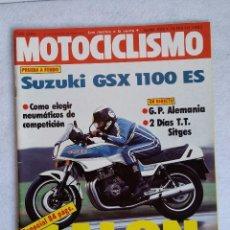 Coches y Motocicletas: REVISTA MOTOCICLISMO 800. AÑO 1983. 14 MAYO. G. P. ALEMANIA. CCAVENDE. Lote 103587491