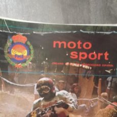 Coches y Motocicletas: REVISTA MOTO SPORT MOTOCICLISMO FEDERACION ESPAÑOLA MOTOCICLISMO NUMERO 135 JUNIO 1982. Lote 104378851