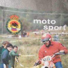 Coches y Motocicletas: REVISTA MOTO SPORT MOTOCICLISMO FEDERACION ESPAÑOLA MOTOCICLISMO NUMERO 77 AGOSTO 1977. Lote 104380707