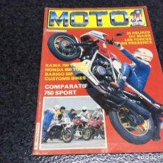 Voitures et Motocyclettes: MOTO 1 Nº 8 EDICION EN FRANCES. Lote 105053427