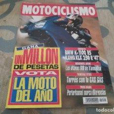Coches y Motocicletas: ANTIGUA REVISTA AÑO 1992 N° 1281 DE MOTOCICLISMO MOTOS GP SUDAFRICA. Lote 105332703