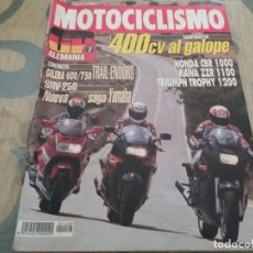 Coches y Motocicletas: ANTIGUA REVISTA AÑO 1992 N° 1269 DE MOTOCICLISMO MOTOS GP ALEMANIA. Lote 105334447