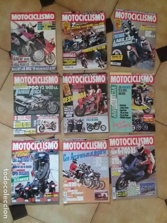 LOTE 9 ANTIGUAS REVISTAS AÑO 1993/91/92 N° 1312 1301 1327 DE MOTOCICLISMO MOTOS REVISTA ANTIGUA (Coches y Motocicletas - Revistas de Motos y Motocicletas)