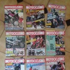 Coches y Motocicletas: LOTE 9 ANTIGUAS REVISTAS AÑO 1993/91/92 N° 1312 1301 1327 DE MOTOCICLISMO MOTOS REVISTA ANTIGUA. Lote 105336535