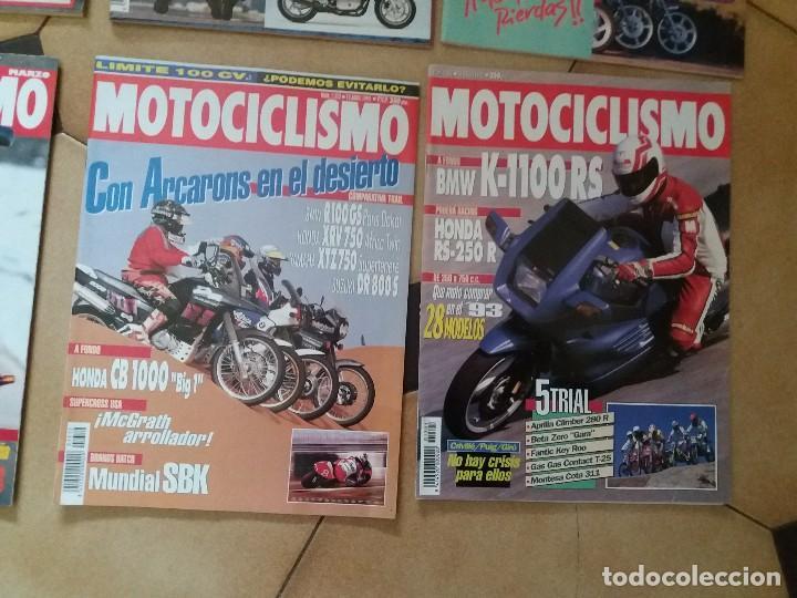 Coches y Motocicletas: Lote 9 Antiguas revistas año 1993/91/92 N° 1312 1301 1327 de MOTOCICLISMO motos revista antigua - Foto 2 - 105336535