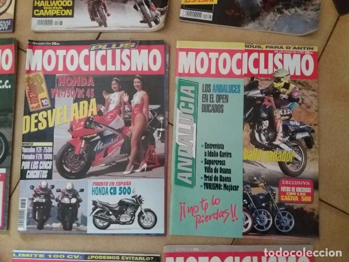 Coches y Motocicletas: Lote 9 Antiguas revistas año 1993/91/92 N° 1312 1301 1327 de MOTOCICLISMO motos revista antigua - Foto 3 - 105336535