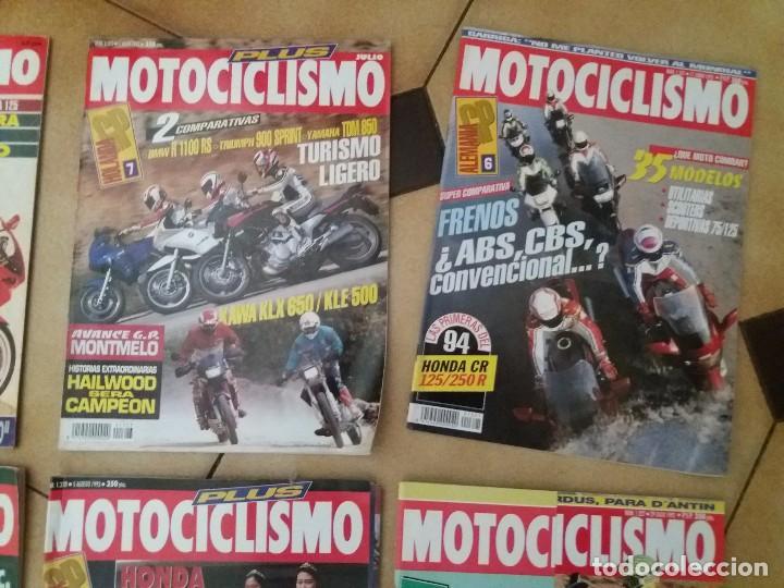 Coches y Motocicletas: Lote 9 Antiguas revistas año 1993/91/92 N° 1312 1301 1327 de MOTOCICLISMO motos revista antigua - Foto 4 - 105336535