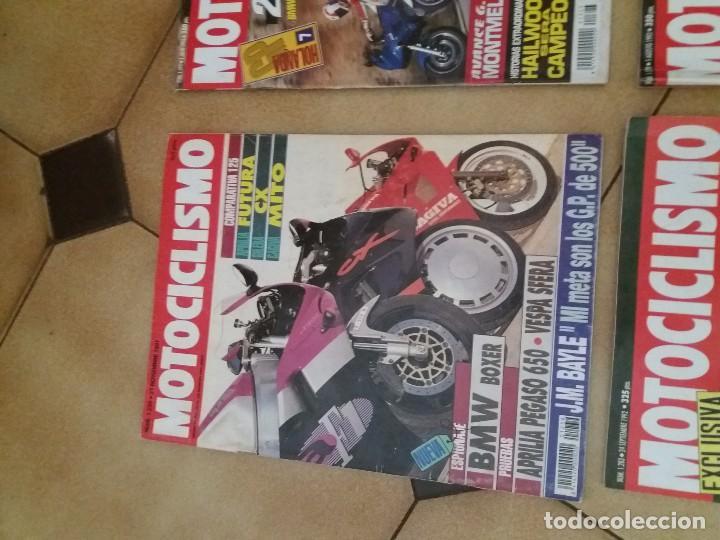 Coches y Motocicletas: Lote 9 Antiguas revistas año 1993/91/92 N° 1312 1301 1327 de MOTOCICLISMO motos revista antigua - Foto 6 - 105336535