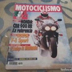 Coches y Motocicletas: ANTIGUA REVISTA AÑO 1992 N° 1266 DE MOTOCICLISMO MOTOS GP ITALIA. Lote 105339843