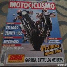 Coches y Motocicletas: ANTIGUA REVISTA AÑO 1993 N° 1319 DE MOTOCICLISMO MOTOS. Lote 105340475