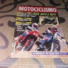 Coches y Motocicletas: ANTIGUA REVISTA AÑO 1992 N° 1275 DE MOTOCICLISMO MOTOS. Lote 105342571
