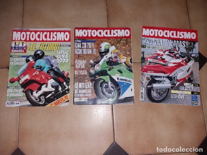 LOTE 3 ANTIGUAS REVISTAS ANTIGUA REVISTA AÑO 1992 1991 N° 1256 1215 1281 DE MOTOCICLISMO MOTOS (Coches y Motocicletas - Revistas de Motos y Motocicletas)