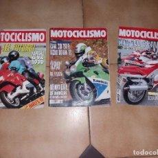 Coches y Motocicletas: LOTE 3 ANTIGUAS REVISTAS ANTIGUA REVISTA AÑO 1992 1991 N° 1256 1215 1281 DE MOTOCICLISMO MOTOS. Lote 105345467