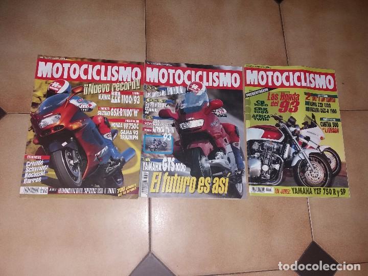 LOTE 3 ANTIGUAS REVISTAS ANTIGUA REVISTA AÑO 1992 1993 N° 1304 1305 1292 DE MOTOCICLISMO MOTOS (Coches y Motocicletas - Revistas de Motos y Motocicletas)
