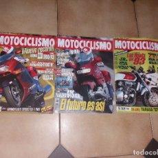 Coches y Motocicletas: LOTE 3 ANTIGUAS REVISTAS ANTIGUA REVISTA AÑO 1992 1993 N° 1304 1305 1292 DE MOTOCICLISMO MOTOS. Lote 105346147
