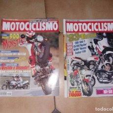 Coches y Motocicletas: LOTE 2 ANTIGUAS REVISTAS ANTIGUA REVISTA AÑO 1992 1993 N° 1332 1288 DE MOTOCICLISMO MOTOS. Lote 105346323