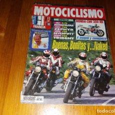 Coches y Motocicletas: ANTIGUA REVISTA AÑO 1992 N° 1274 DE MOTOCICLISMO MOTOS. Lote 105347287