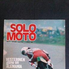 Coches y Motocicletas: REVISTA SOLO MOTO. N°245. 1980. Lote 105595759