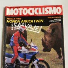 Coches y Motocicletas: REVISTA MOTOCICLISMO NÚMERO 1062. Lote 105872034