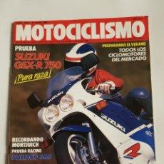 Coches y Motocicletas: REVISTA MOTOCICLISMO NÚMERO 1064. Lote 105872238